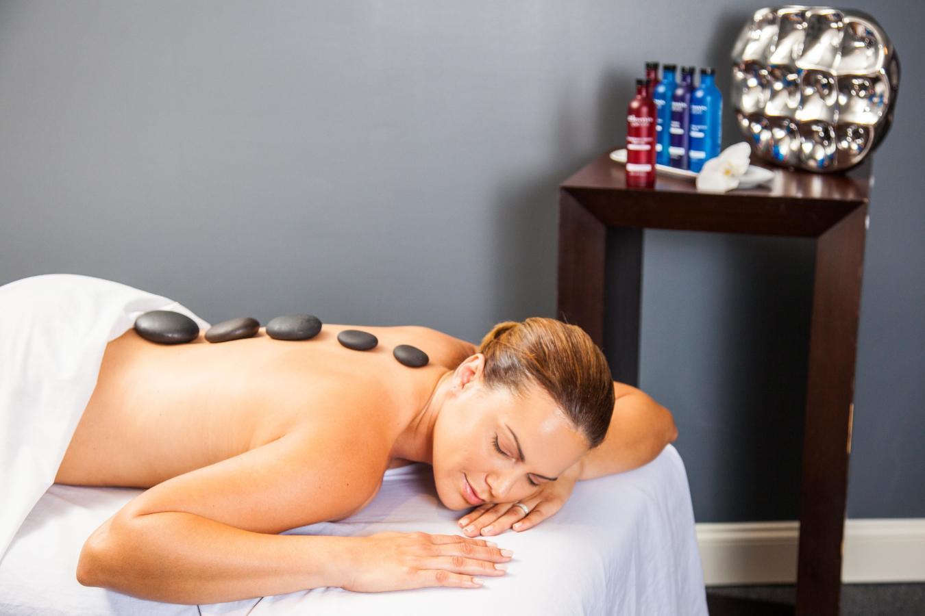 Elemis Aroma Spa Therapy massage.