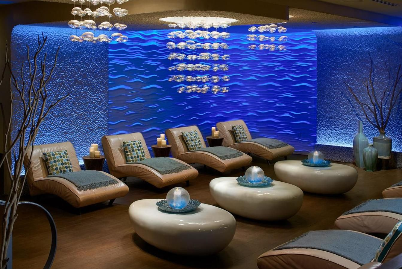 Aveda Seven Seas Spa & Salon Relaxation Lounge