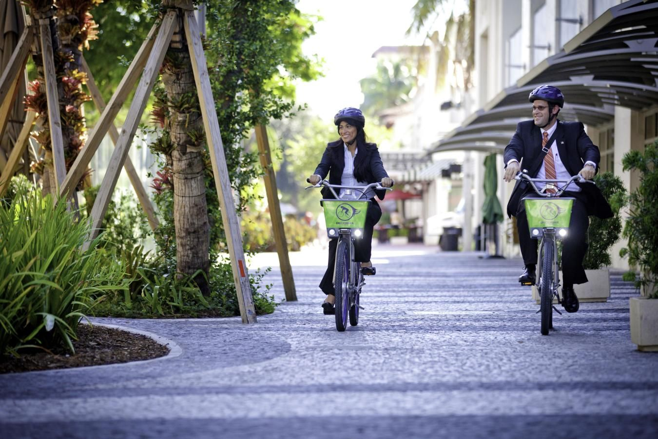Work or play - DecoBike takes you wherever you need to go!