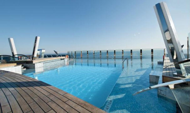 MSC Divina_Infinity Pool.
