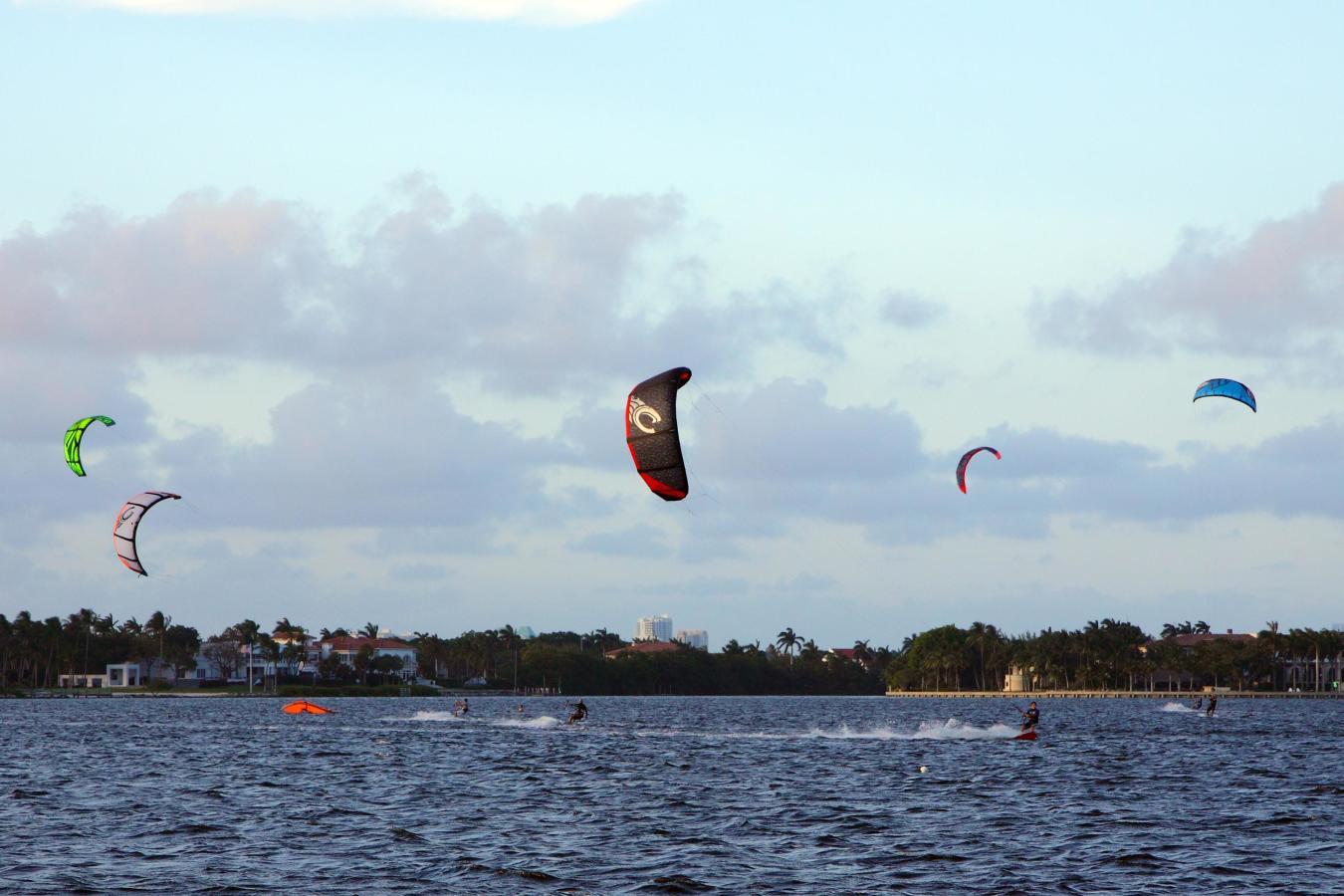 Matheson Hammock Park Kitesurfen