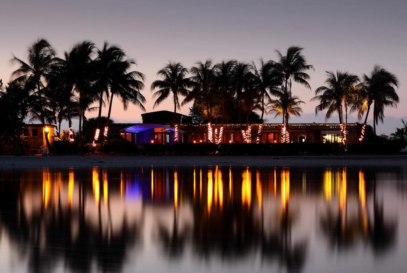 Matheson Hammock Park Waterview at Night