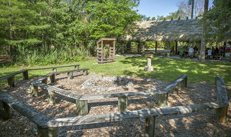 Arch Creek Park & Nature Center Campsite