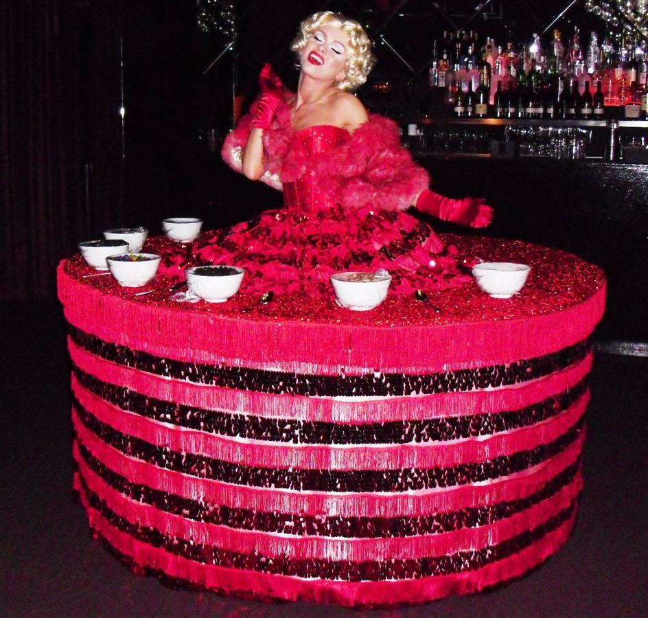 Marilyn Monroe Dessert Table