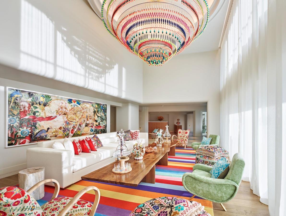 Tierra Santa Healing House Living Room