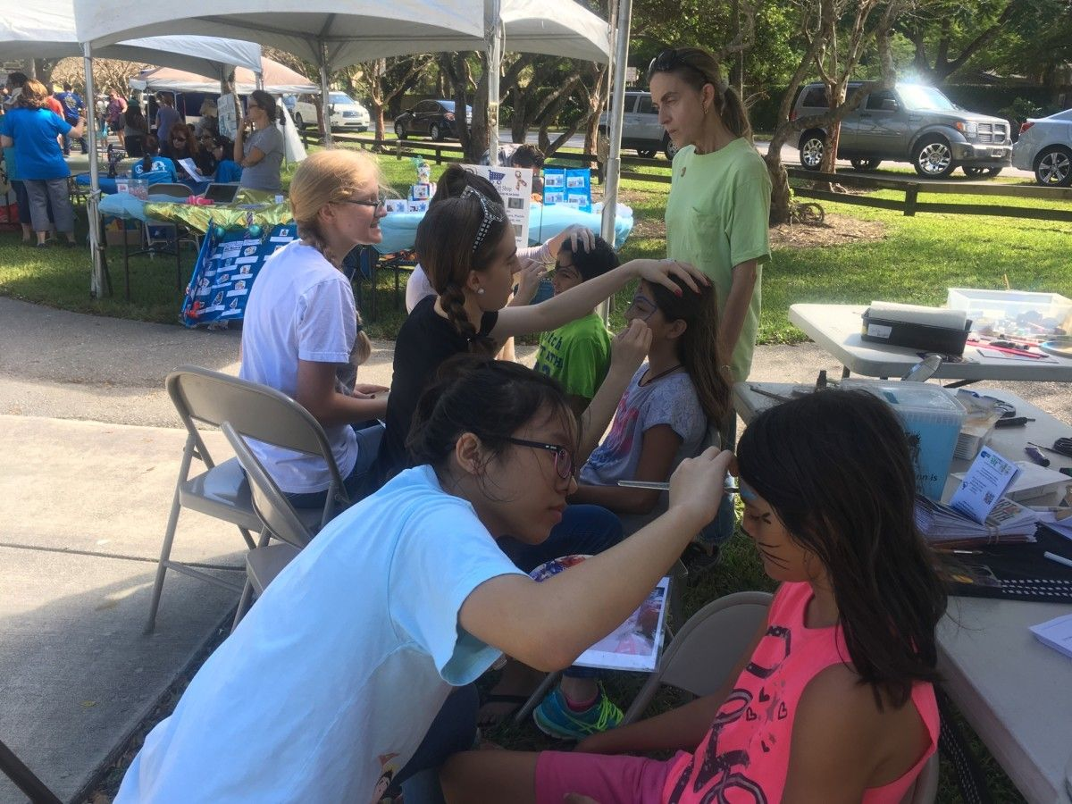 Community Events - Face-Painting