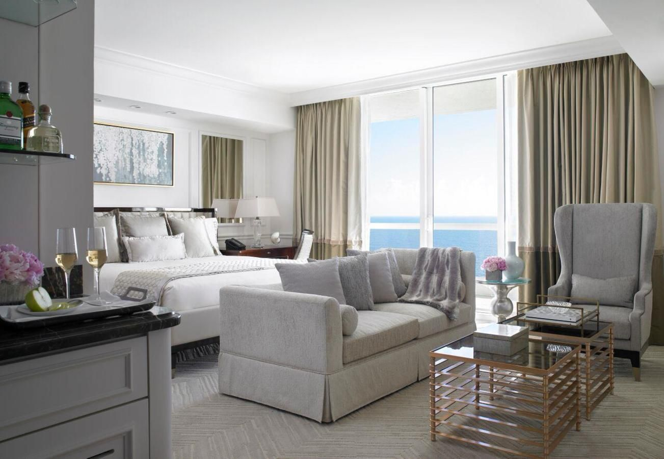 Habitación frente al mar
