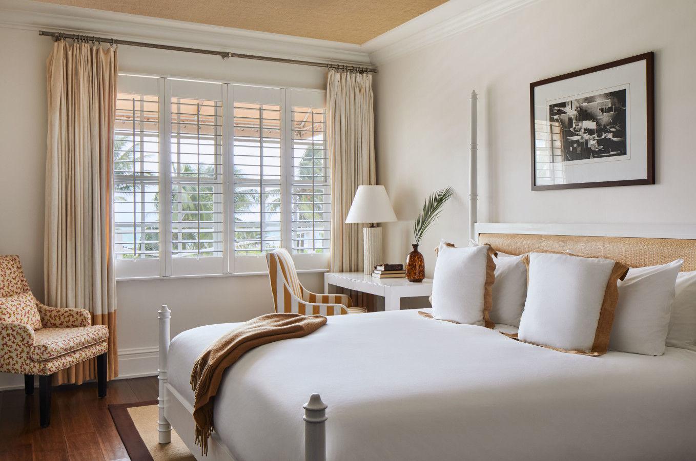 Habitación Deluxe con cama extragrande y vistas al mar