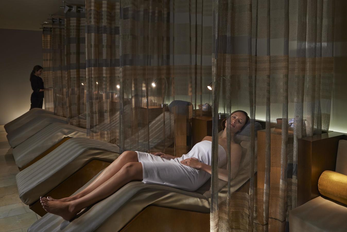 Salon de détente au spa à Mandarin Oriental, Miami