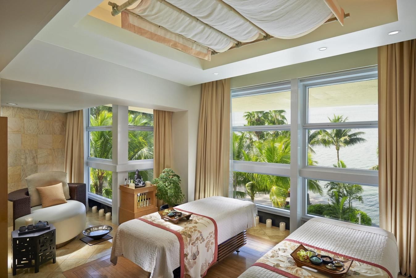 Spa Couples Suite au Spa at Mandarin Oriental, Miami
