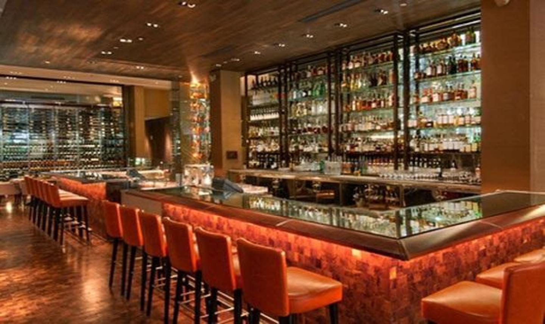 Dining Room/Bar at Bourbon Steak Aventura