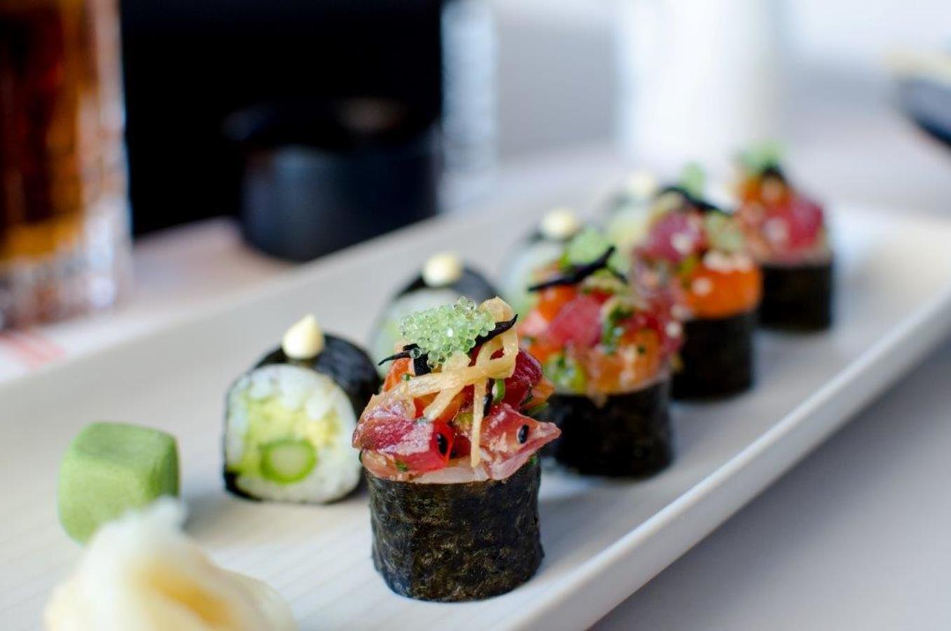 Poke de saumon au thon Ahi