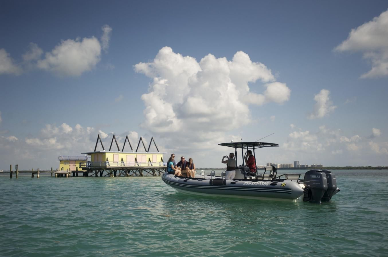 Visiting historic Stiltsville in Biscayne National Park
