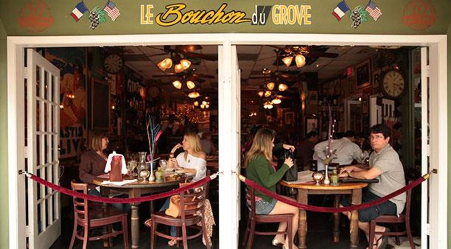 Lunch at Le Bouchon in the Grove