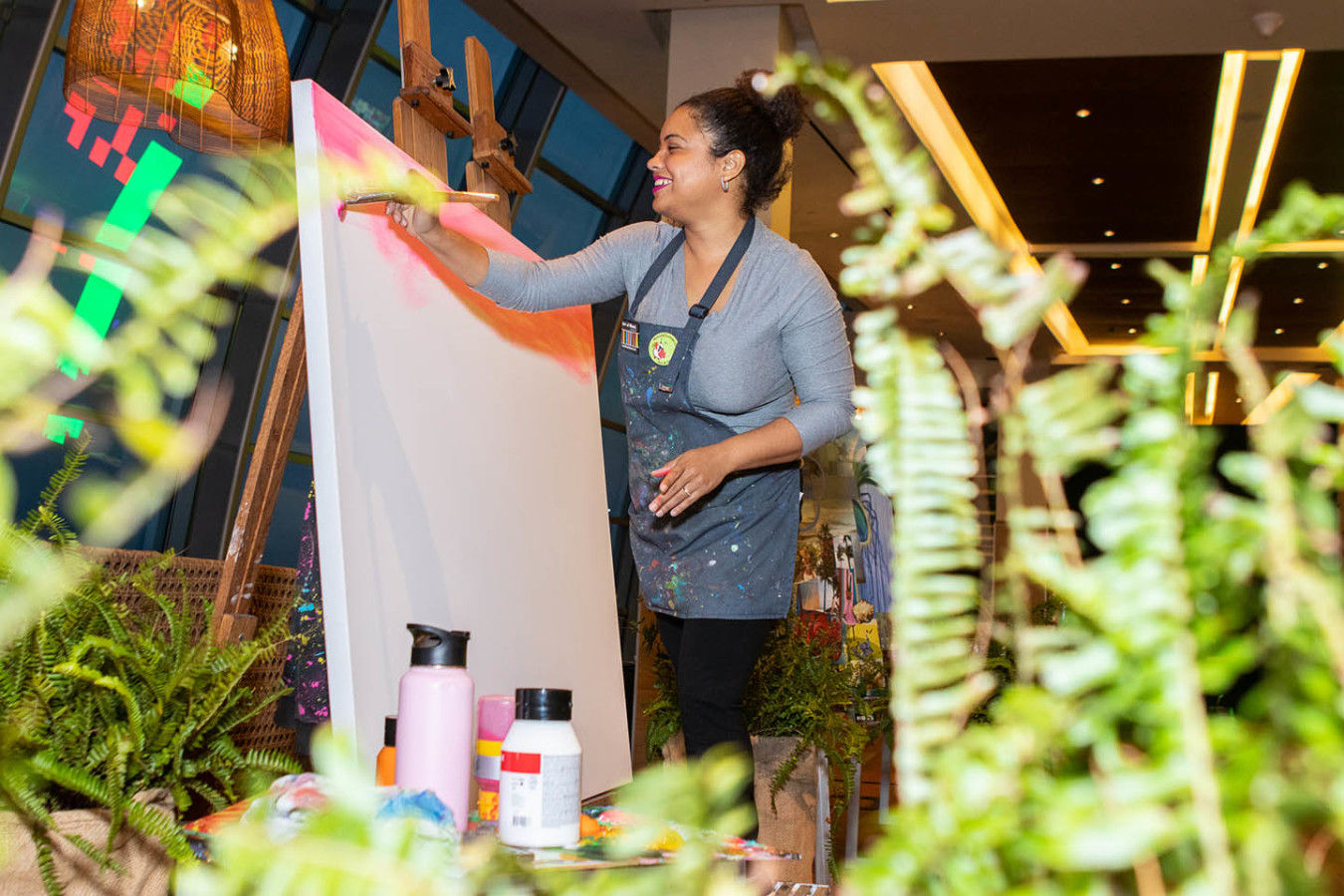 Art Activation and Live painting