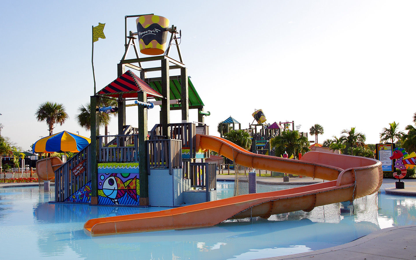 Brito Slide at Grapeland Water park