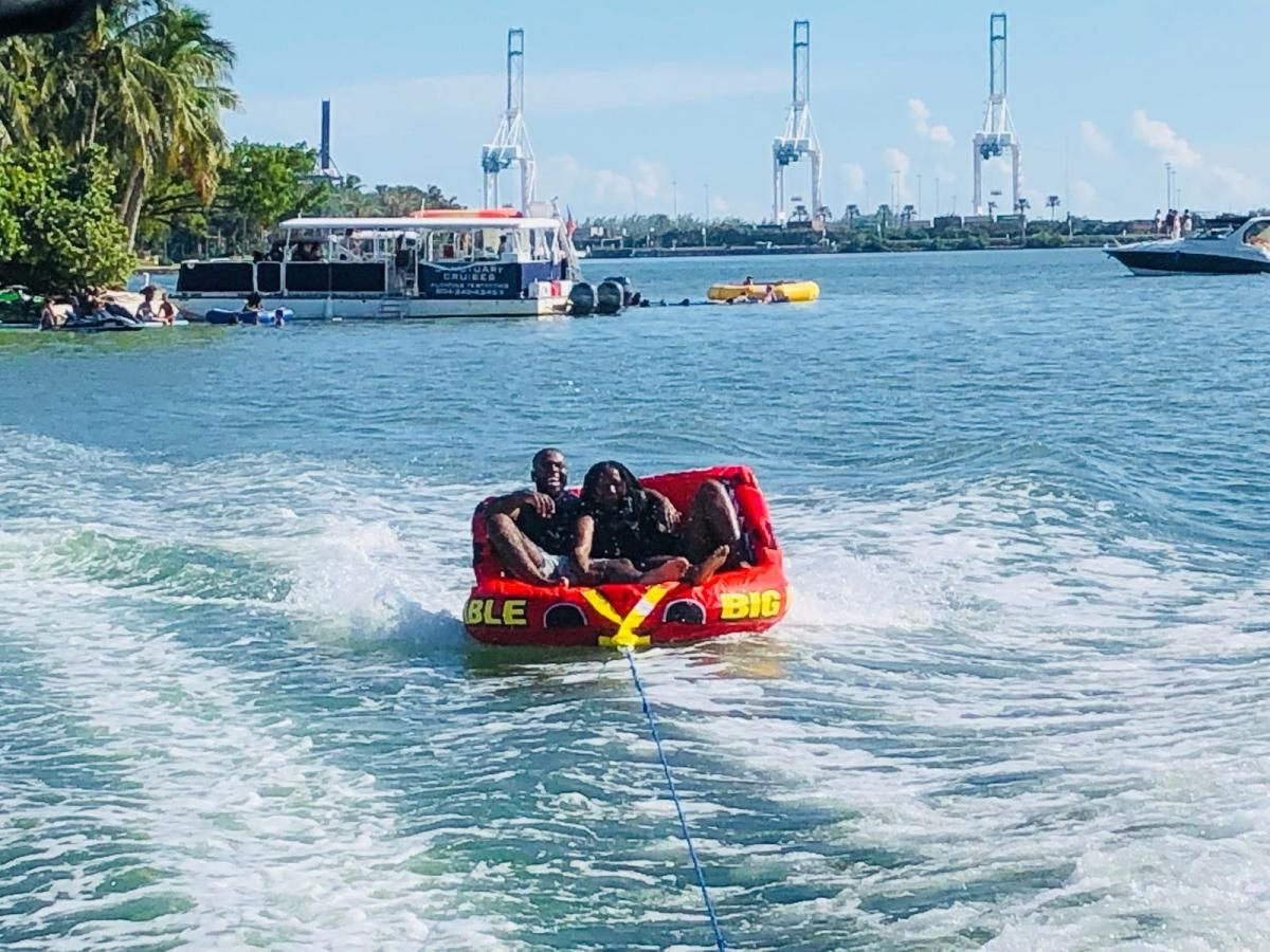 tubing session Miami Beach