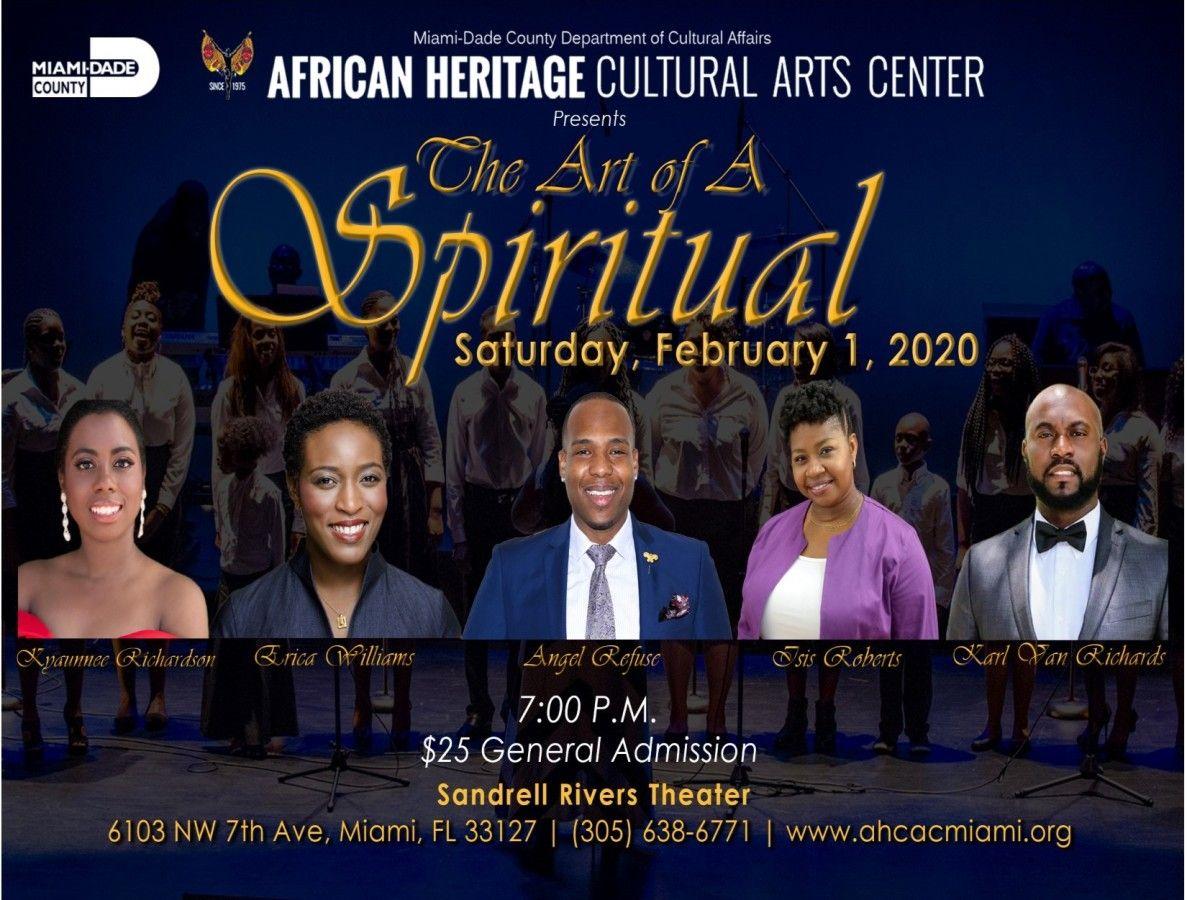 Art of A Spiritual Music Concert