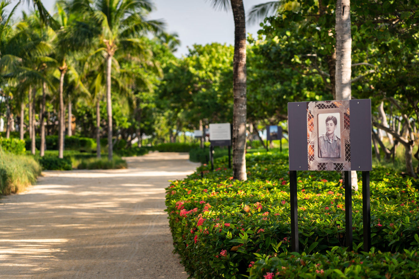 The Bal Harbour Beach Path