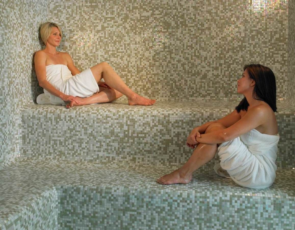 Aveda Spa Steam Room