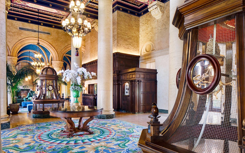 Hall d'accueil historique