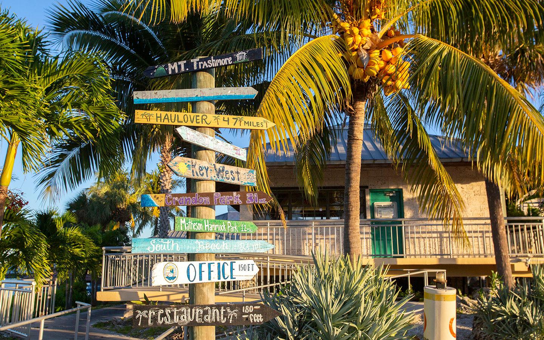 Fun location signs