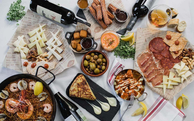Bulla Gastrobar Doral table
