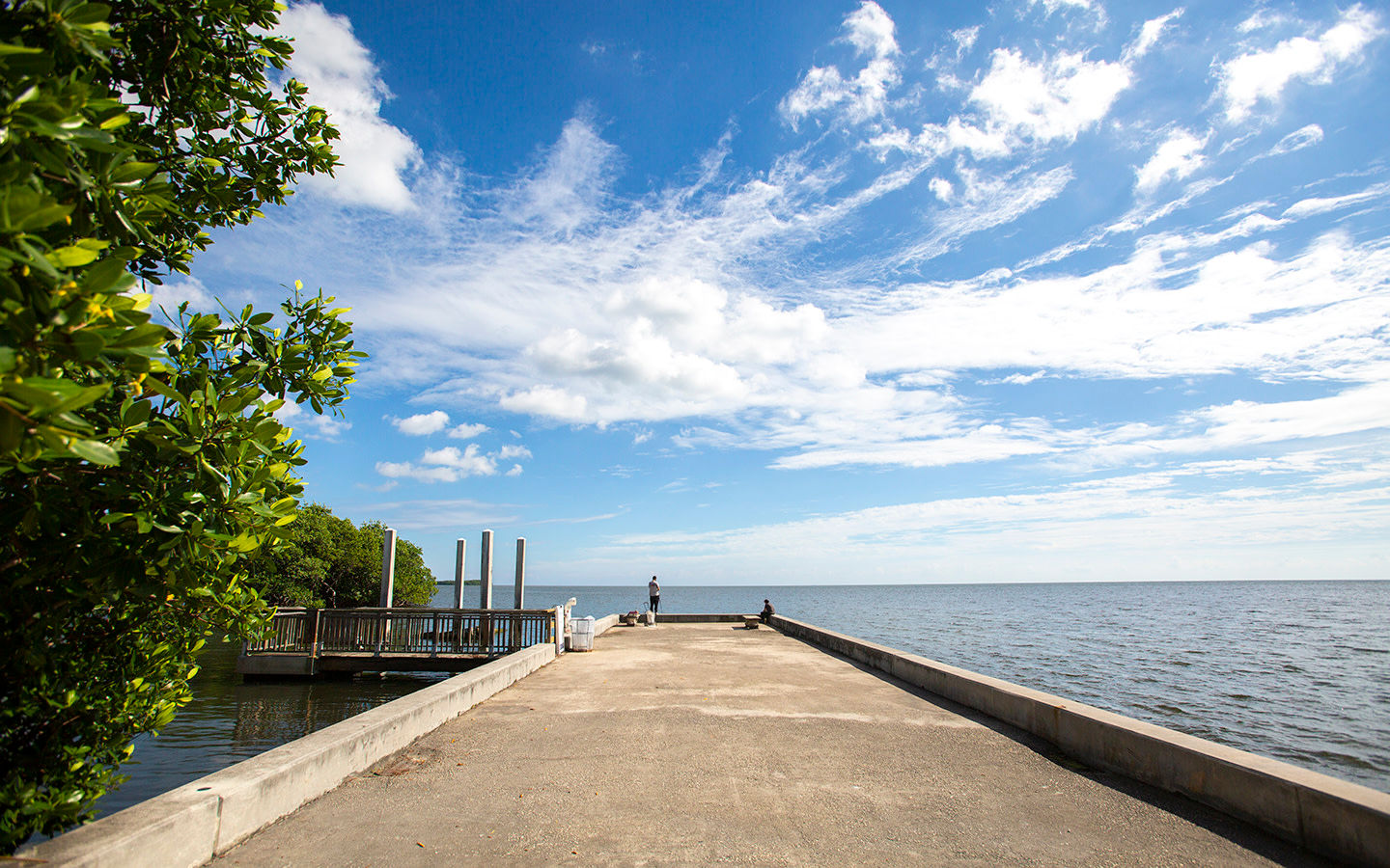 Dock at Charles Deering Estate