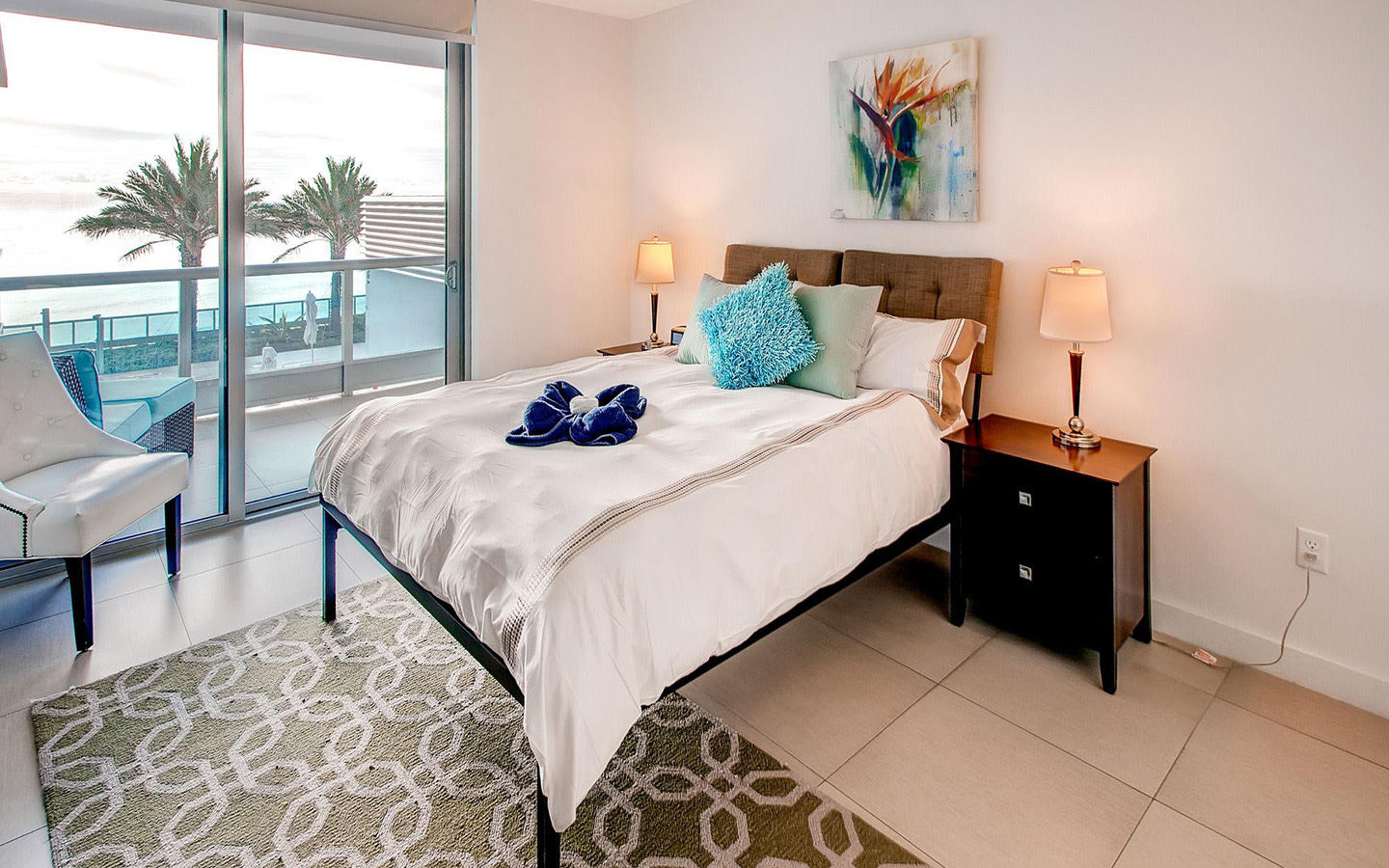 Ocean Front one-bedroom apartment suite