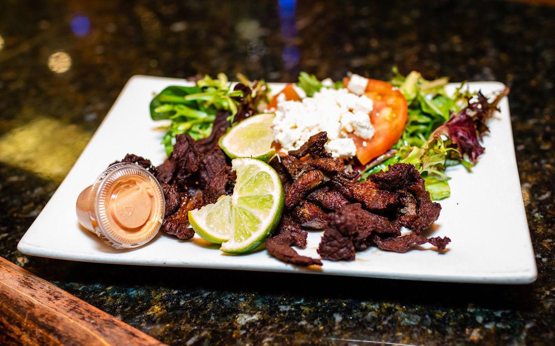 Club Tipico Steak dinner