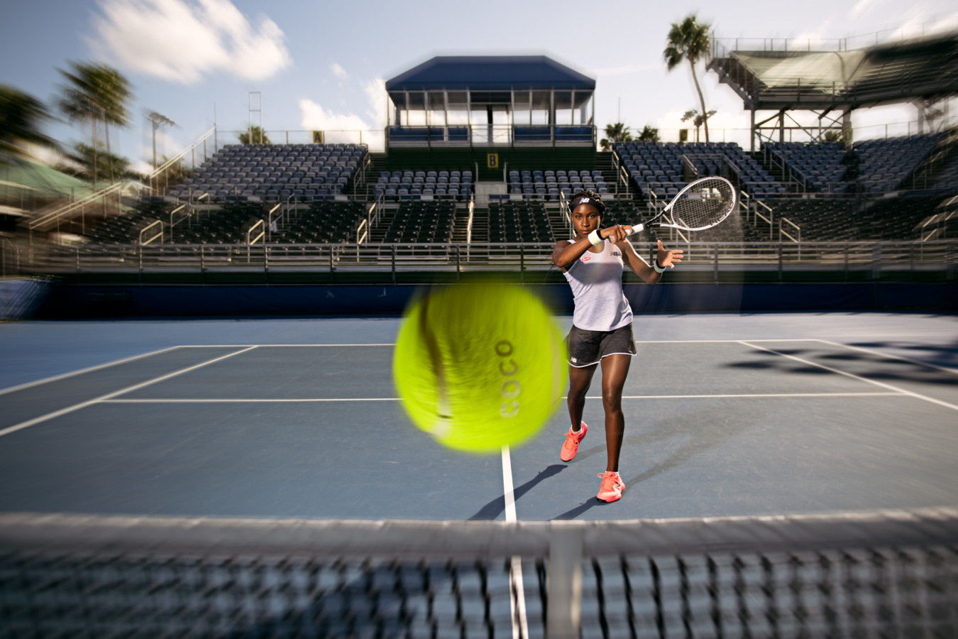 Coco Gauff - Sports and Fitness Tennis Photography