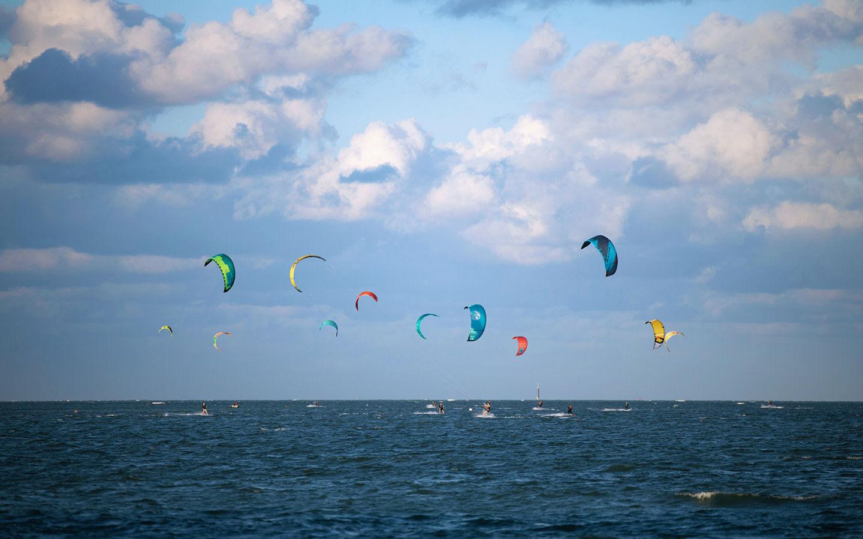Windsurfing at Crandon Park