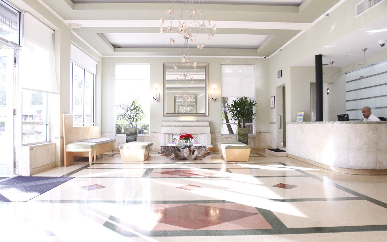 Crest Hotel Suites Lobby