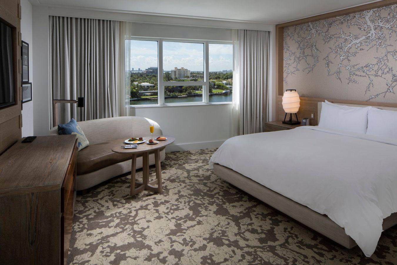 Deluxe King Bay View - Nobu HotelMiami Beach