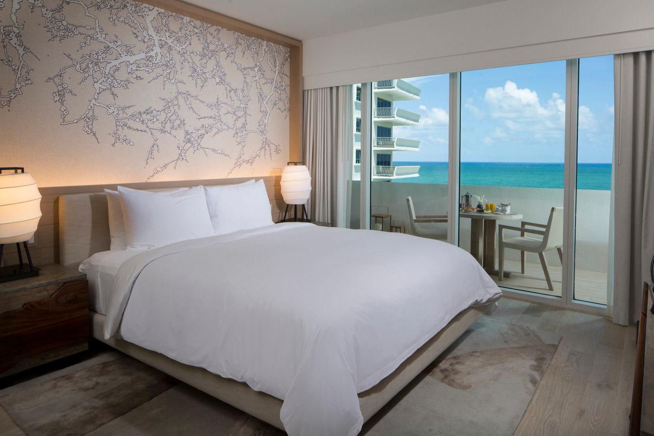 Deluxe King Ocean View - Nobu Hotel Miami Beach