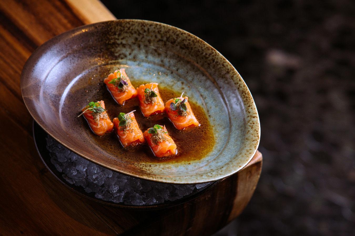 Truffle Honey Salmon