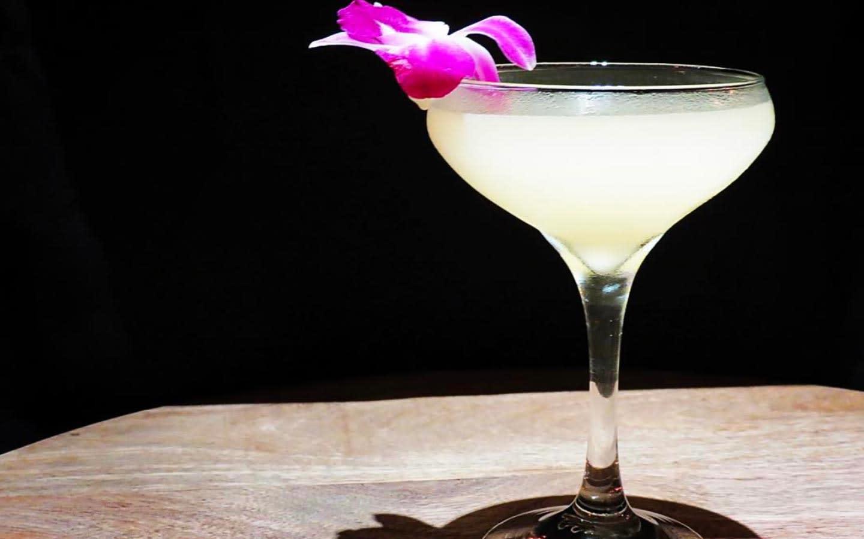 Drunken Dragon Lychee Martini
