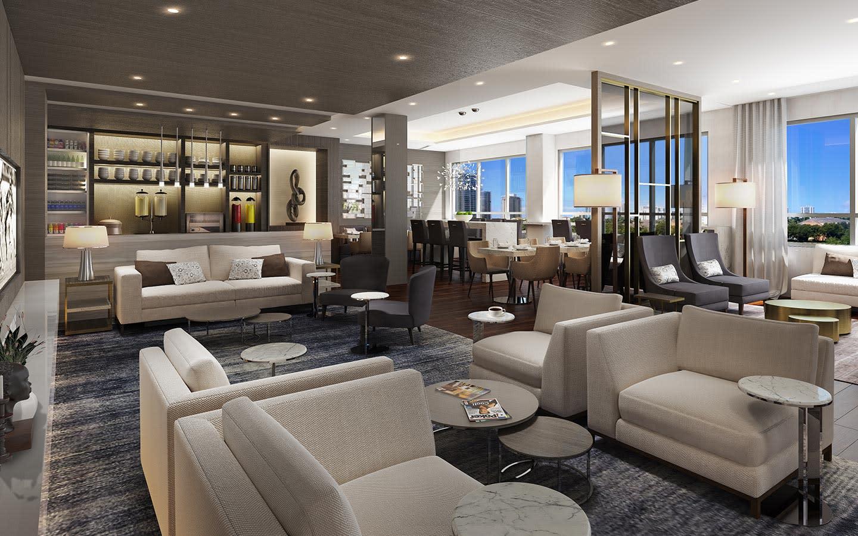 Hilton Aventura Executive Lounge
