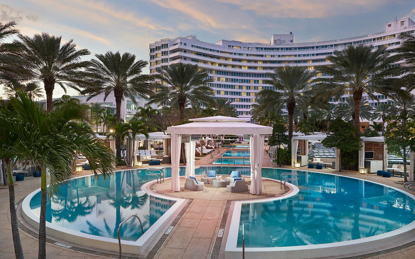 Fontainebleau Miami Beach岛小屋