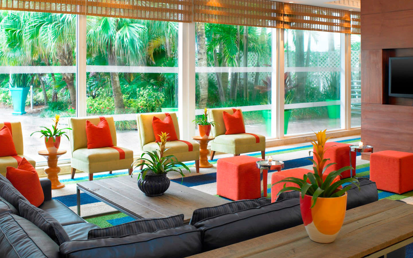 Sitting Area in Upper Lobby