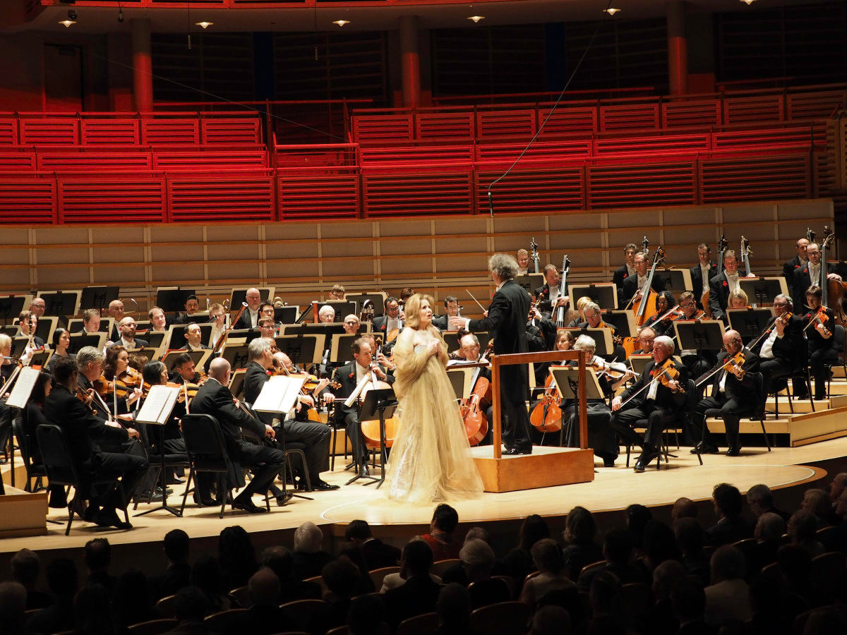 Franz Welser w Renee Fleming - Credit Gabriel Bancora for Manny Hernandez Photo