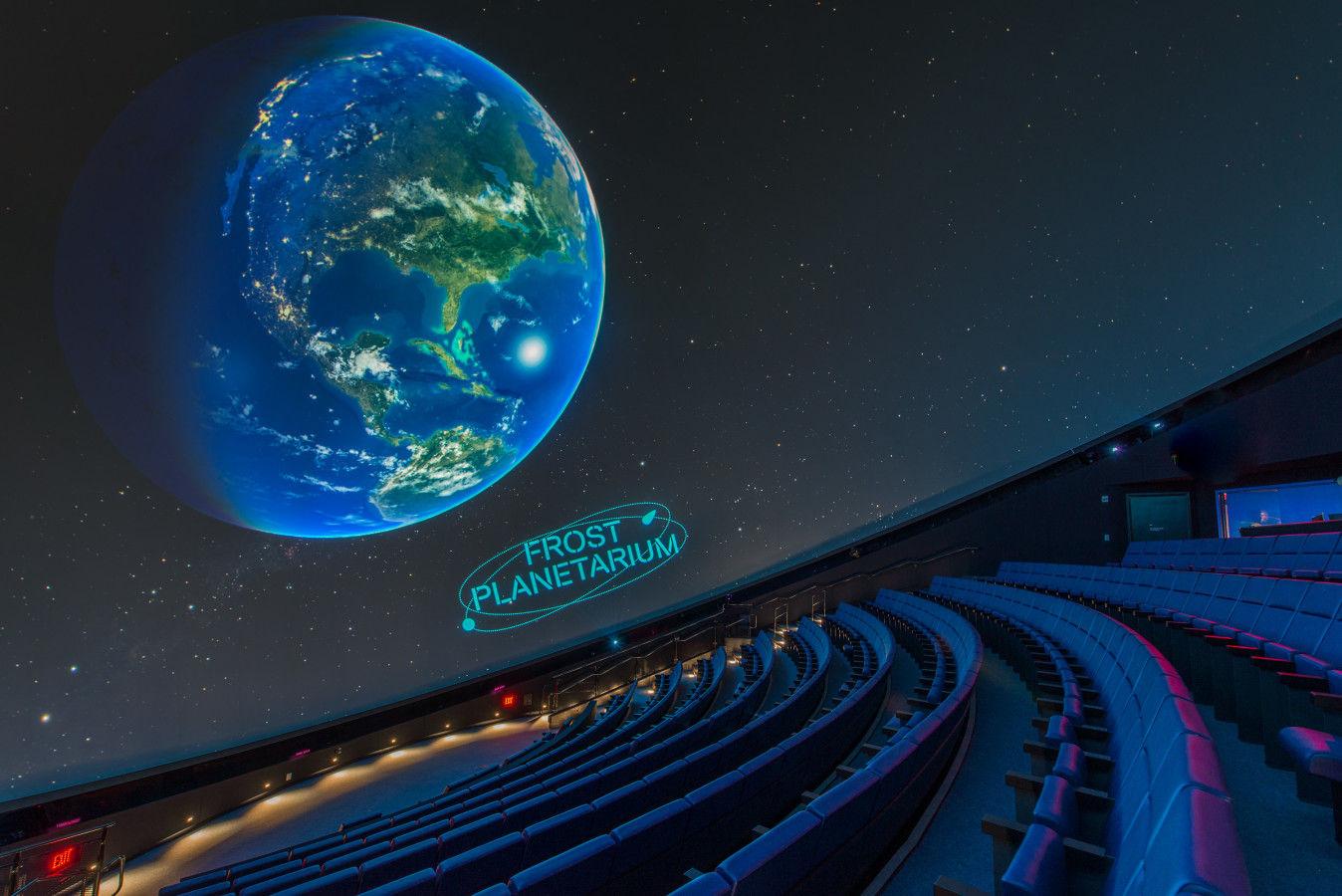 Planetario de escarcha