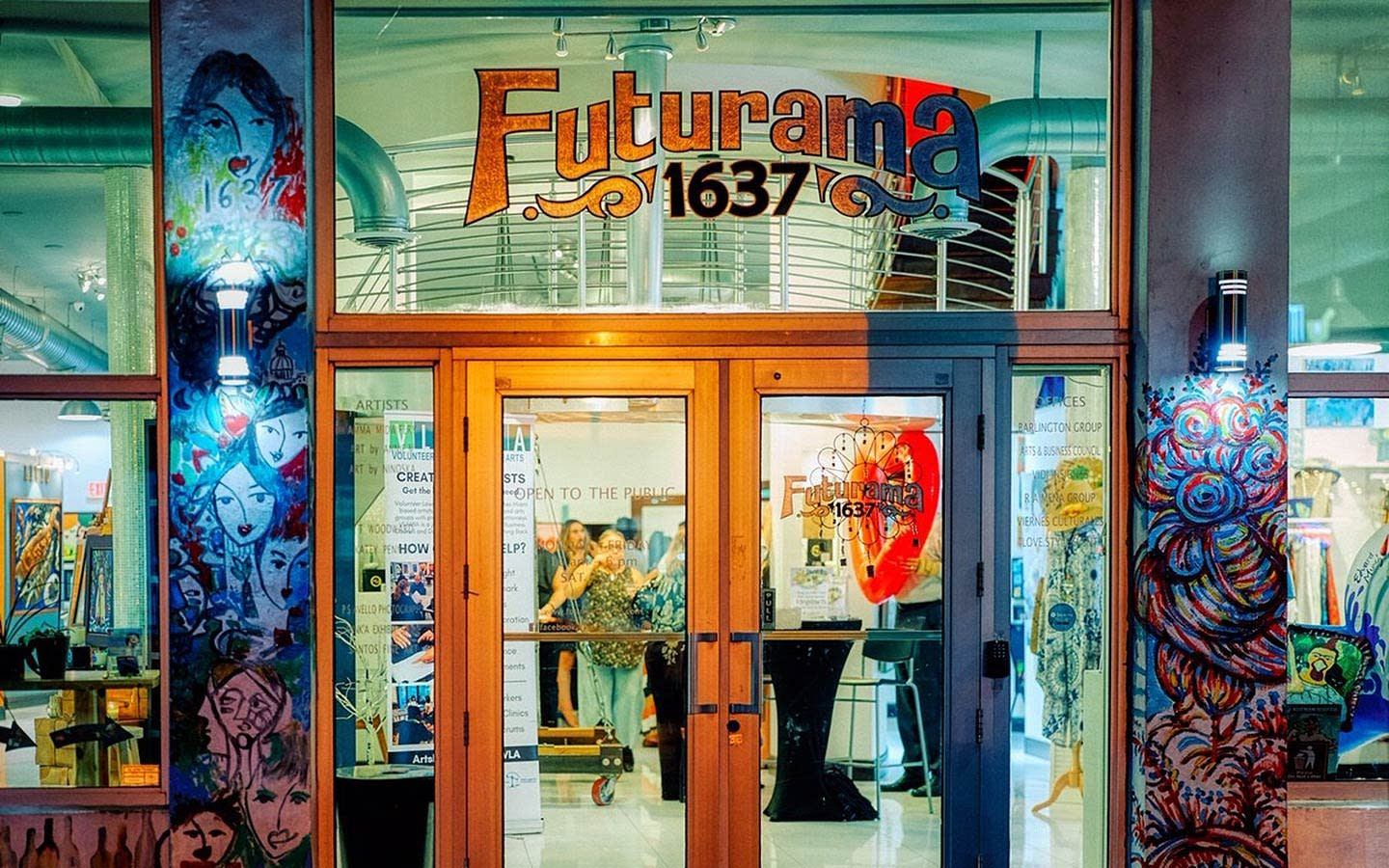Futurama 1637 Art Building