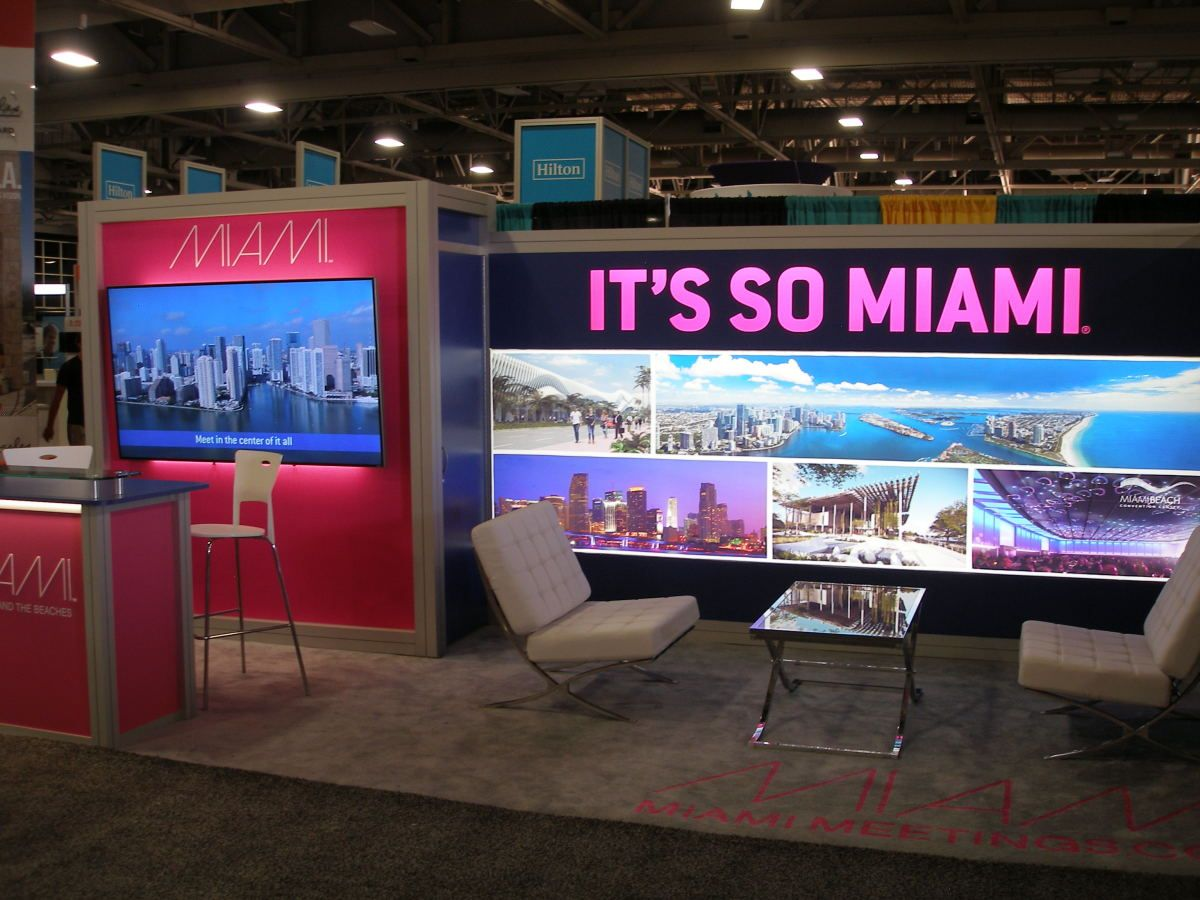 Creative Displays It's So Miami Campaign