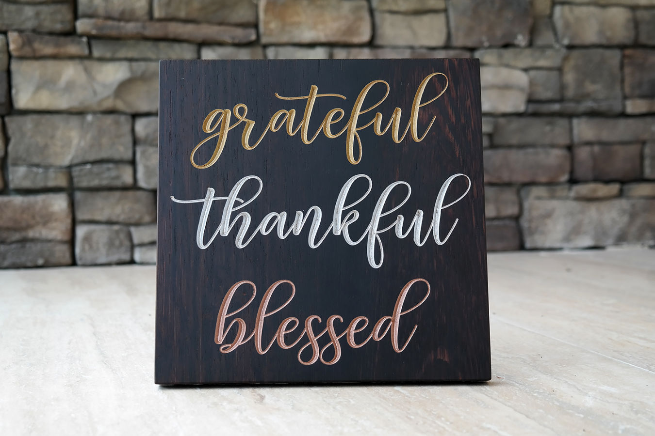 Be... Grateful, Thankful, Blessed