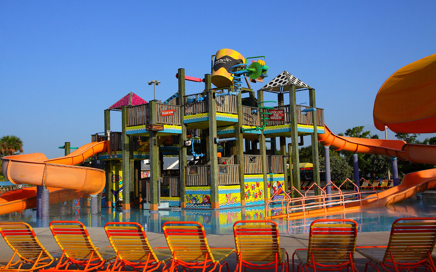 Mega Slide at Grapeland Water Park