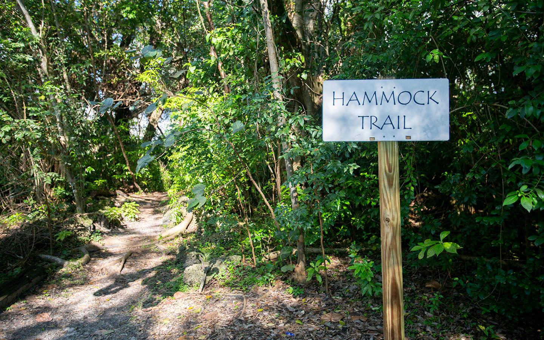 Hammock Trail Sign