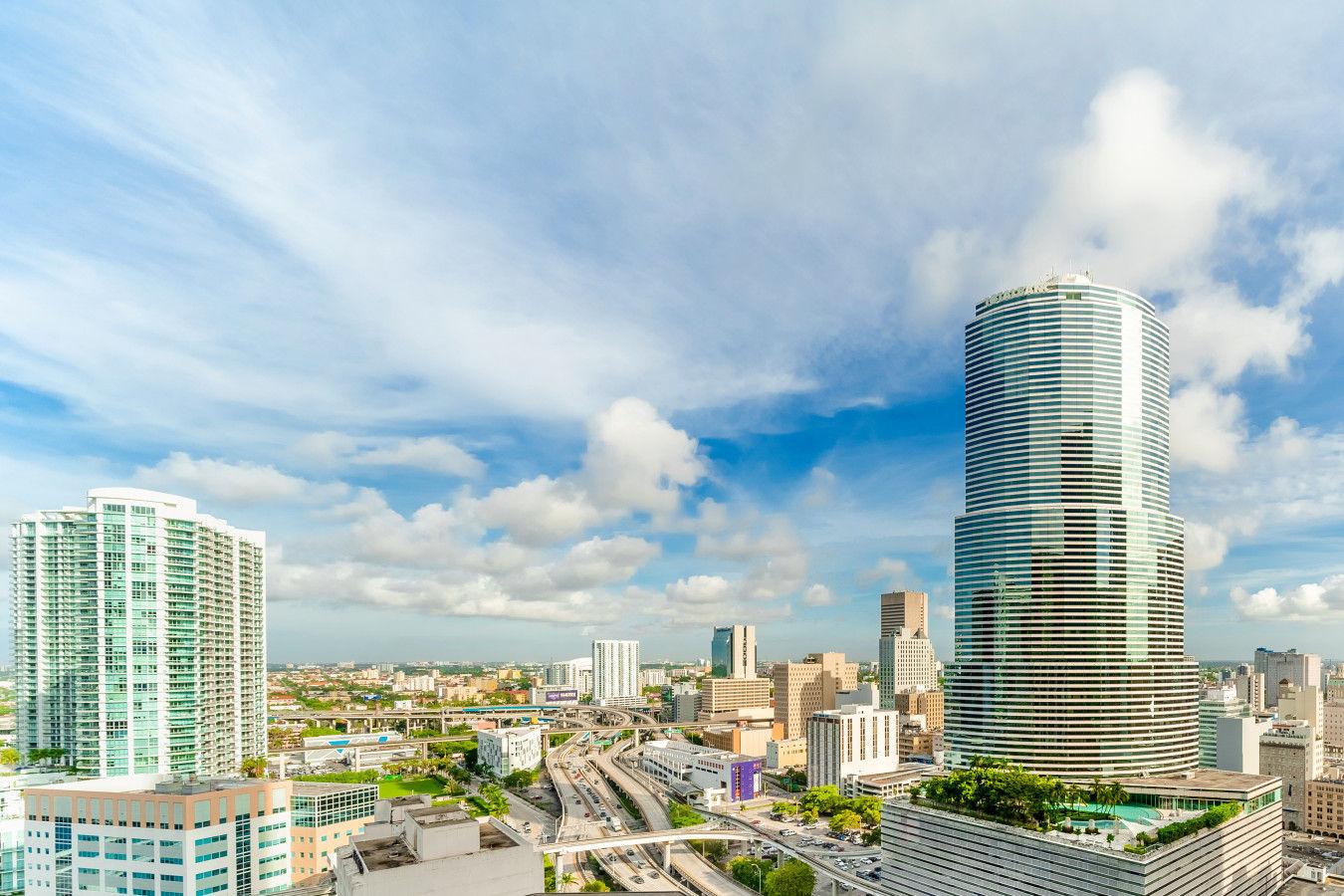 City View from Hyatt Regency Miami