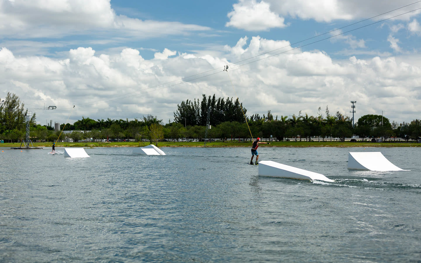 Amelia Earhart Park Watersports Complex ramps