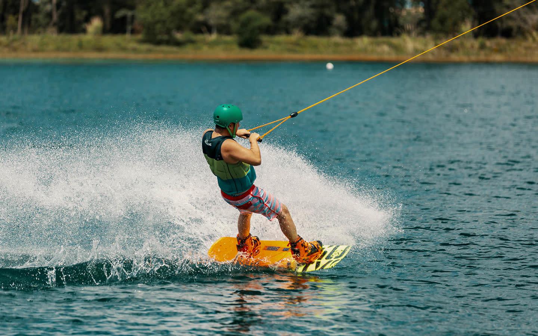 Amelia Earhart Park wakeboarding